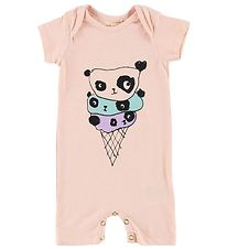 Soft Gallery Summer Romper - Owen - Polar Bear