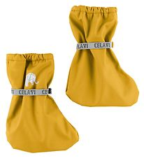 CeLaVi Outdoor Footies - PU - Yellow