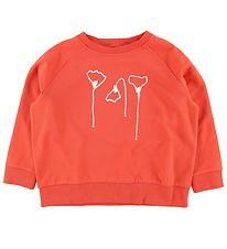 Gro Sweatshirt - Abby - Matte Red