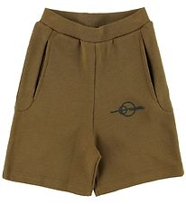 Gro Shorts - Tall - Ocher Green