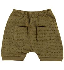 Gro Shorts - Drini - Ocher Green