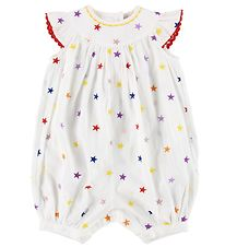 Stella McCartney Kids Summer Romper - White w. Stars