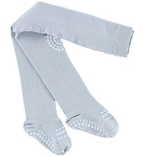 GoBabyGo Non-Slip Tights - Light Blue