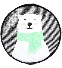 Play&Go Play Mat/Toy Storage Bag - Soft - D120 cm - Polar Bear