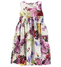 Dolce & Gabbana Dress - White w. Flowers
