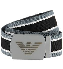 Emporio Armani Belt - Black/Grey