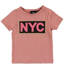Petit by Sofie Schnoor T-shirt - Dusty Rose w. NYC