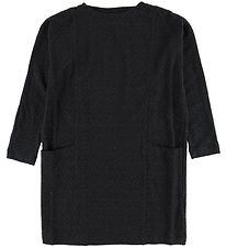 Rosemunde Dress - Charcoal Pattern