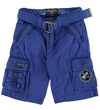 Geographical Norway Shorts - Poncho - Royal Blue