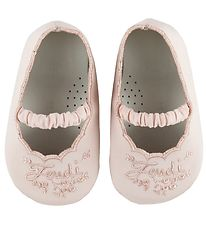 Fendi Kids Ballerina Slippers - Powder