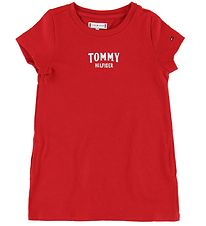 Tommy Hilfiger Dress - Red w. Logo