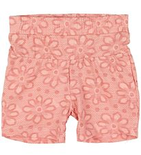 Small Rags Shorts - Rose w. Flowers