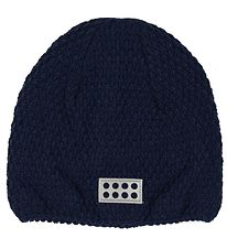 Lego Hat - Alfred - Knitted - Navy