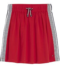 Tommy Hilfiger Skirt - Red w. Side Stripe