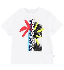 Stella McCartney Kids T-shirt - White w. Palm Tree