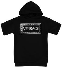 Young Versace Dress - Sweat - Black w. Logo