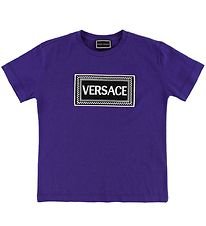 Young Versace T-shirt - Dark Blue w. Logo