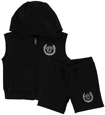 Young Versace Tracksuit - Black w. White