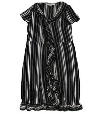 Hound Dress - Black/White Stripe