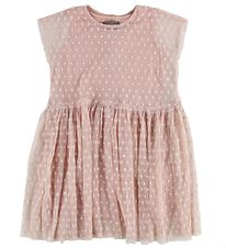 Creamie Dress - Light Rose w. Hearts