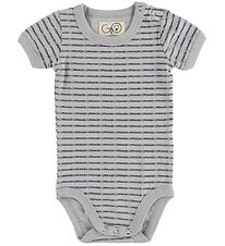 Gro Bodysuit S/S - Albi - Light Grey