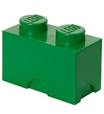 Lego Storage Storage Box - 2 Knobs - Green