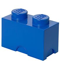Lego Storage Storage Box - 2 Knobs - Blue