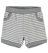 Pippi Shorts - Grey Striped