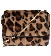 Petit by Sofie Schnoor Shoulder Bag - Faux Fur - Brown Leo