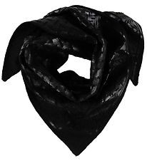 Lala Berlin Scarf - Triangle Neo Black Foil S - Nero
