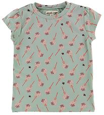 Small Rags T-shirt - Mint Green w. Print
