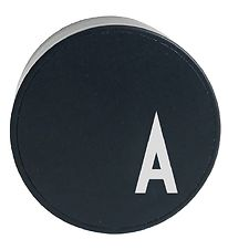 Design Letters Adapter - A - Black