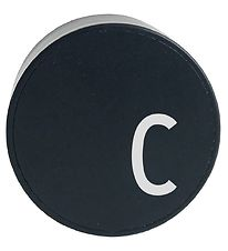 Design Letters Adapter - C - Black
