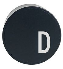 Design Letters Adapter - D - Black