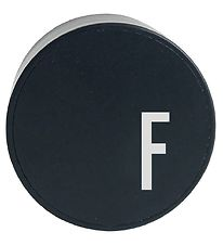 Design Letters Adapter - F - Black