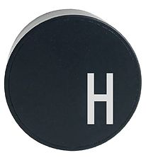 Design Letters Adapter - H - Black