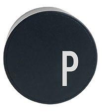 Design Letters Adapter - P - Black