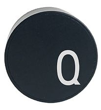 Design Letters Adapter - Q - Black