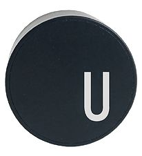 Design Letters Adapter - U - Black