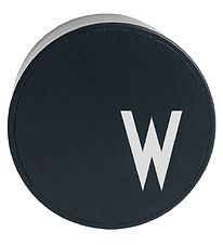 Design Letters Adapter - W - Black