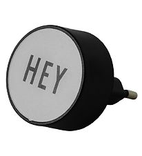 Design Letters Adapter - Hey - Grey