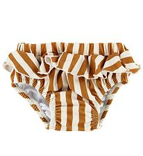 Liewood Swim Diaper - Elise - UV50+ - Orange Striped