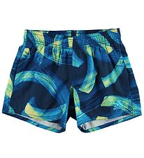 adidas Performance Swim Trunks - Navy w. Print