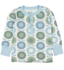 Katvig Blouse - Blue w. Apples