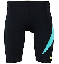 Aqua Lung Swim Jammers - Dylan - UV50+ - Black/Turquoise