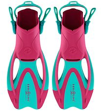 Aqua Lung Diving Fins - Zinger Jr - Pink/Turquoise