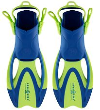 Aqua Lung Diving Fins - Zinger Jr - Blue/Lime