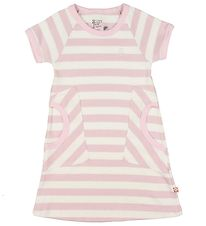 Katvig Dress - Pink/White Striped