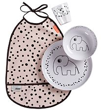 Done By Deer Dinner Set - Happy Dots - Powder