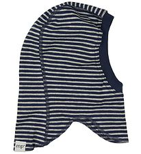 Mp Balaclava - Navy Striped